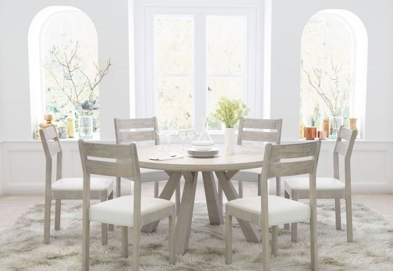 Cape Town Dining Table Coastal Chic Cool That Looks Gorgeous No