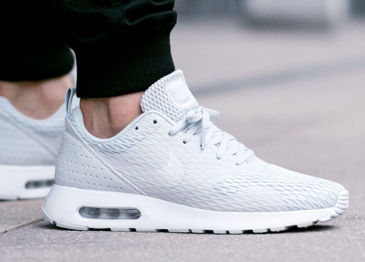 Nike Air Max Tavas SE 'Pure Platinum' (via Kicks-daily.com. Streetwear  ShopStreet OutfitSneakers NikeRunning Shoes ...