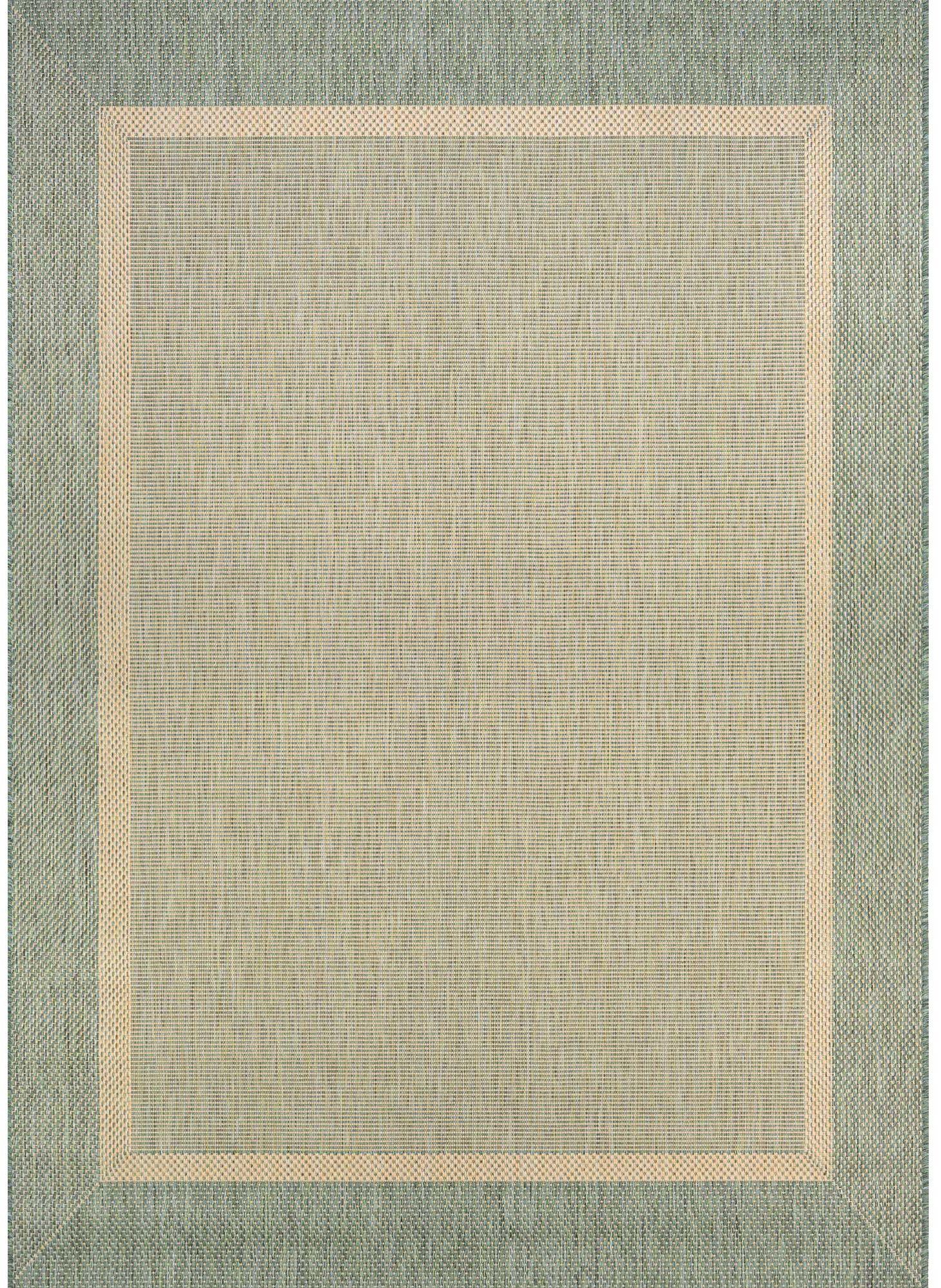 Karakum Texture Greenbeige Indooroutdoor Area Rug