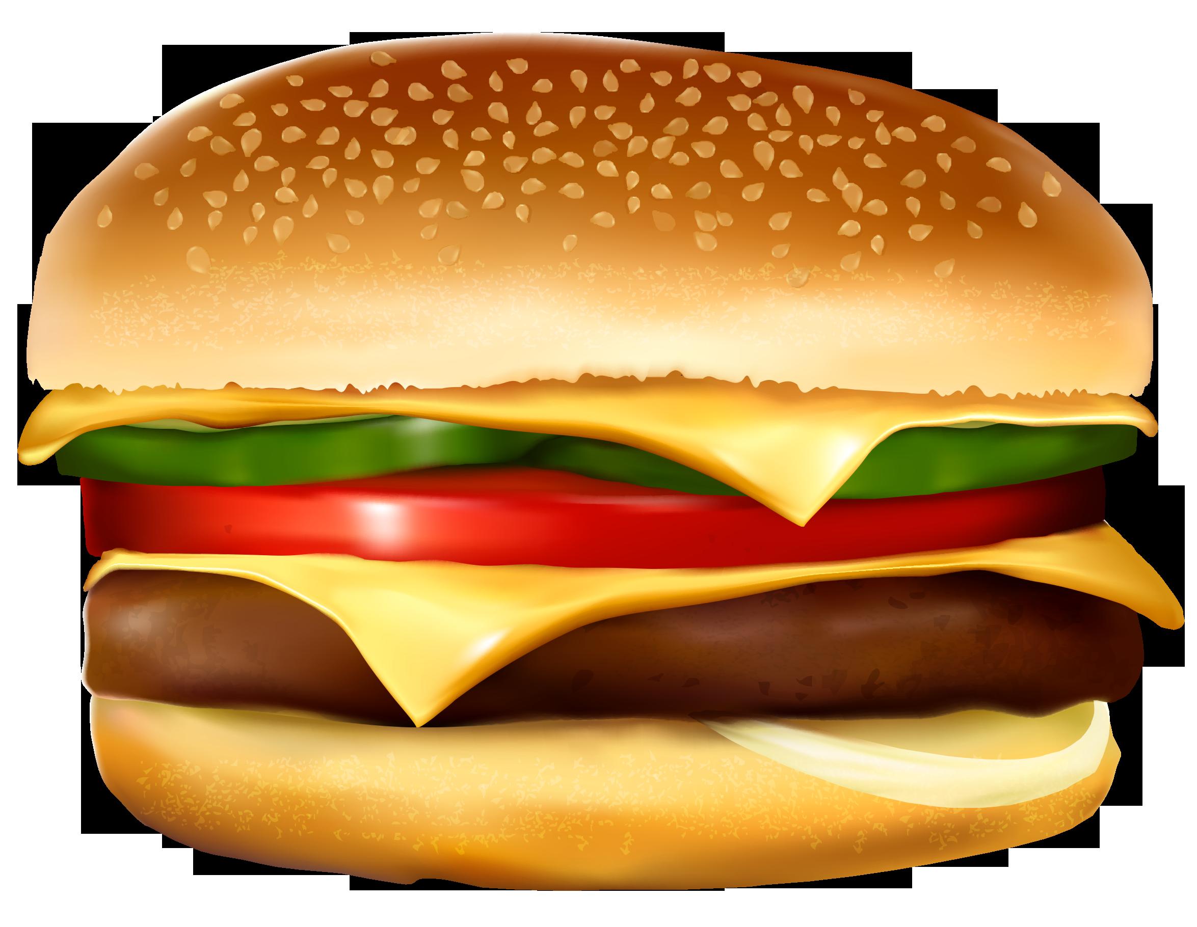 Pin On Burger Clip Art
