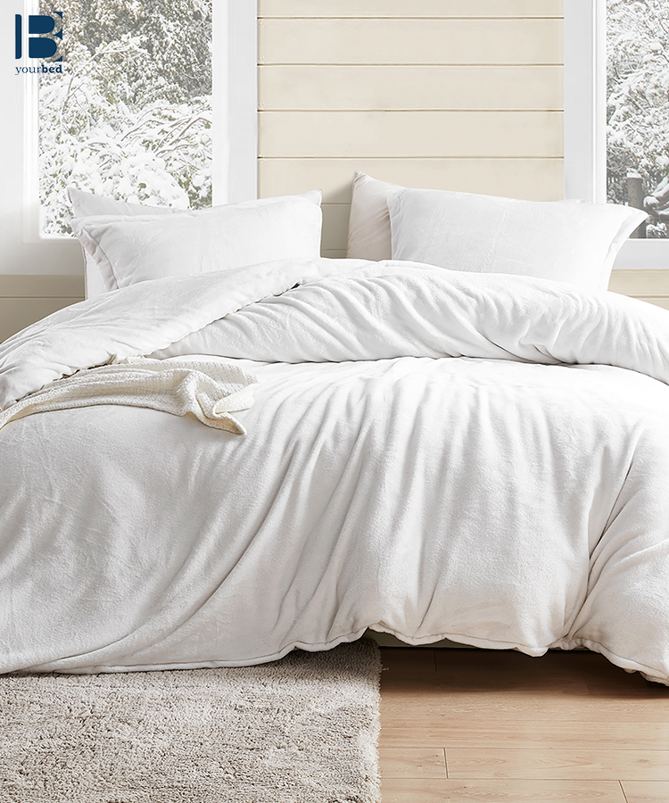 Best Oversized Twin Queen Or King Duvet Cover For Extra Large Comforter Coma Inducer Wait Oh What Farmhouse White Made With Super Soft Plush White Duvet Bedding White Comforter Bedroom White