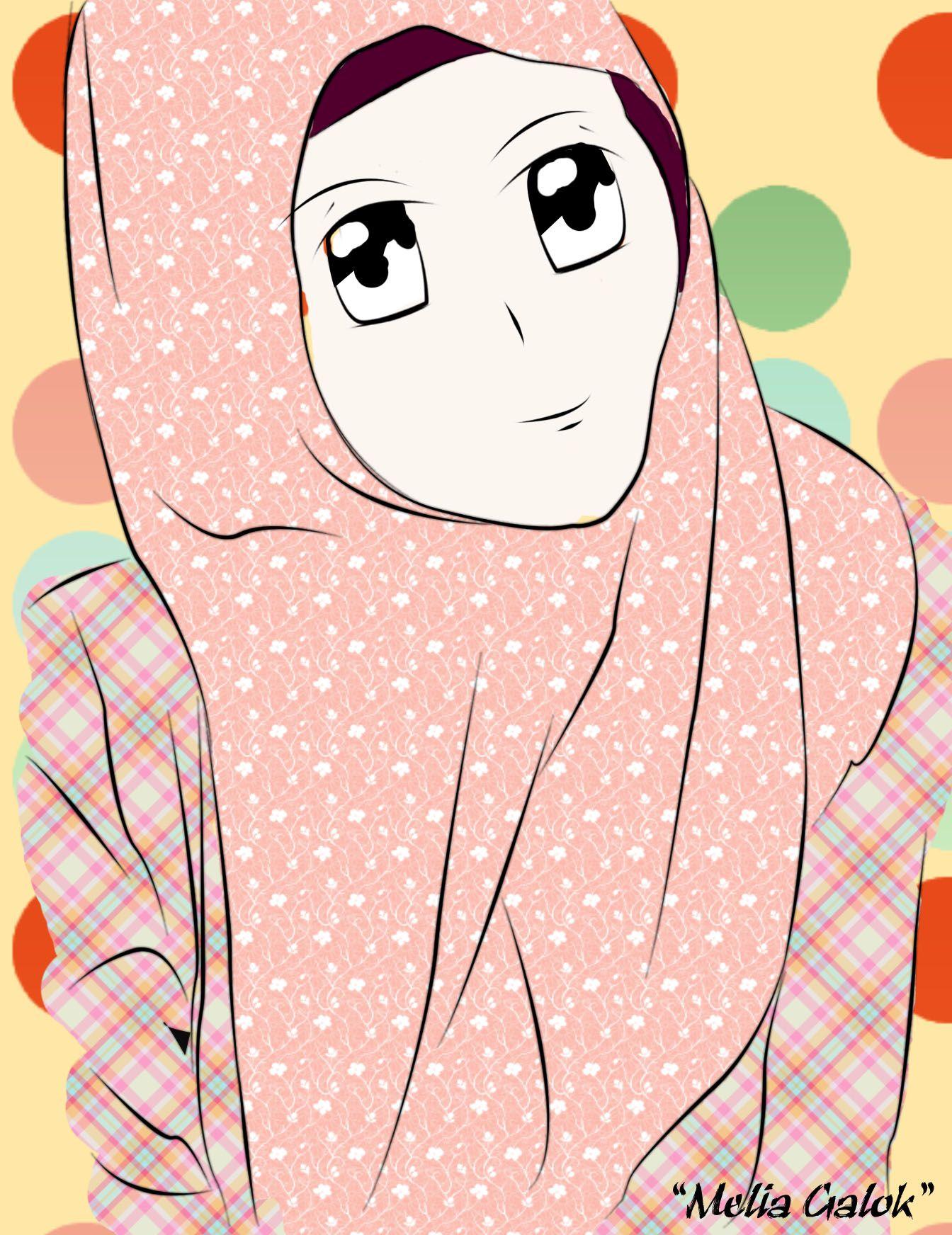 Cute Manga Anime Hijab Muslimah Manga Hijab Pinterest