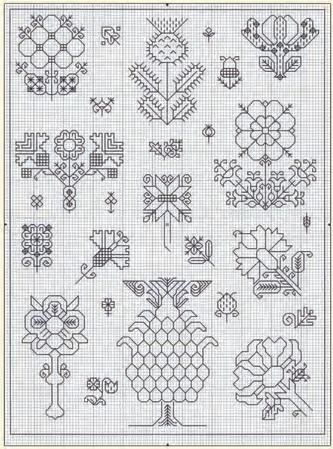 Blackwork Made easy | Kreuzstich | Pinterest | Stickerei, Christlich ...