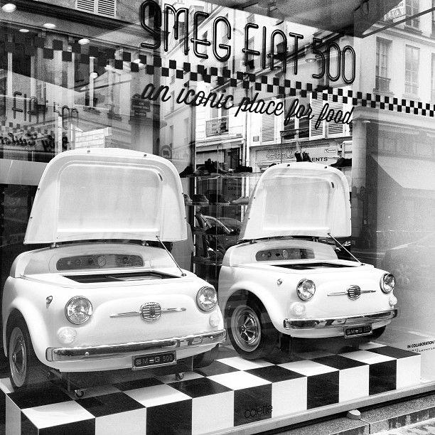 Smeg Fiat 500 Things Beautiful Pinterest Fiat