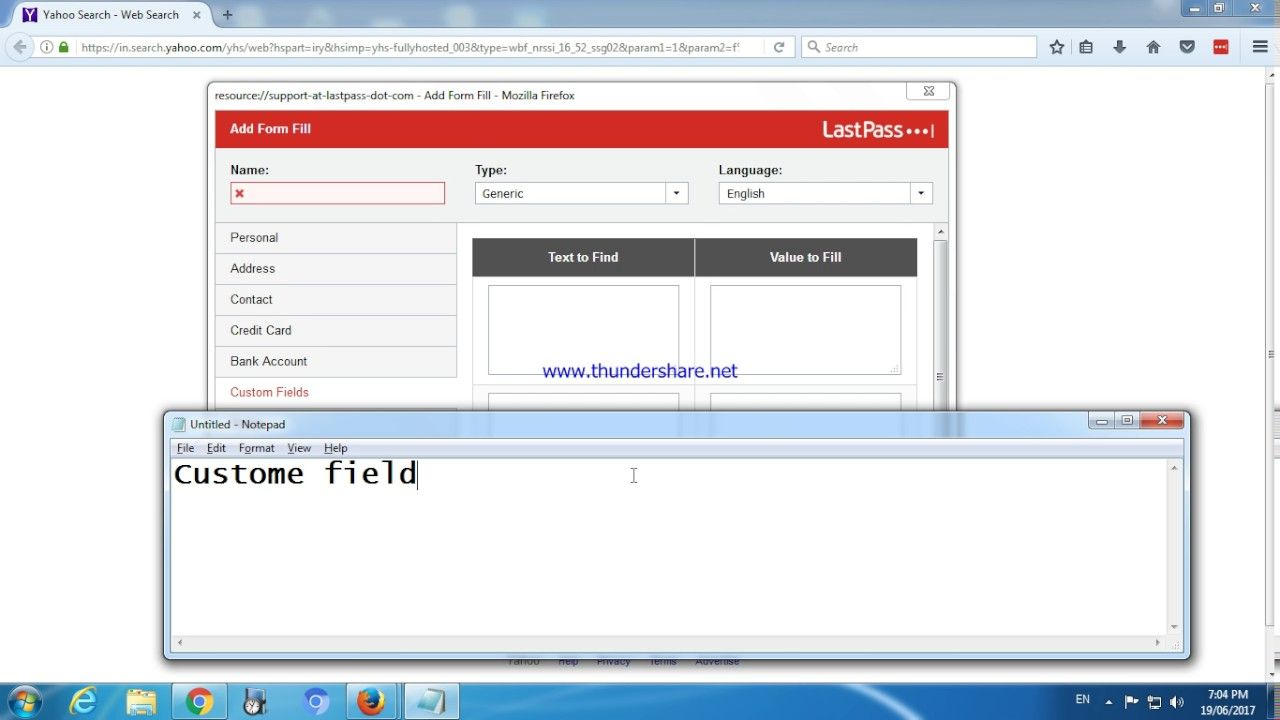 How to Add LastPass app in Chrome and Firefox | Auto Form Filler ...
