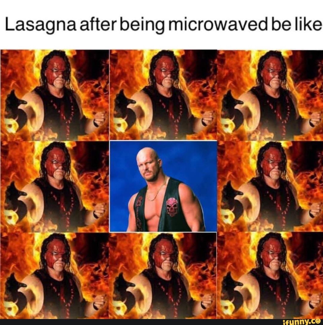 Picture memes ezS9GQf07 — iFunny Lasagna after being microwaved be like – popular memes on the site