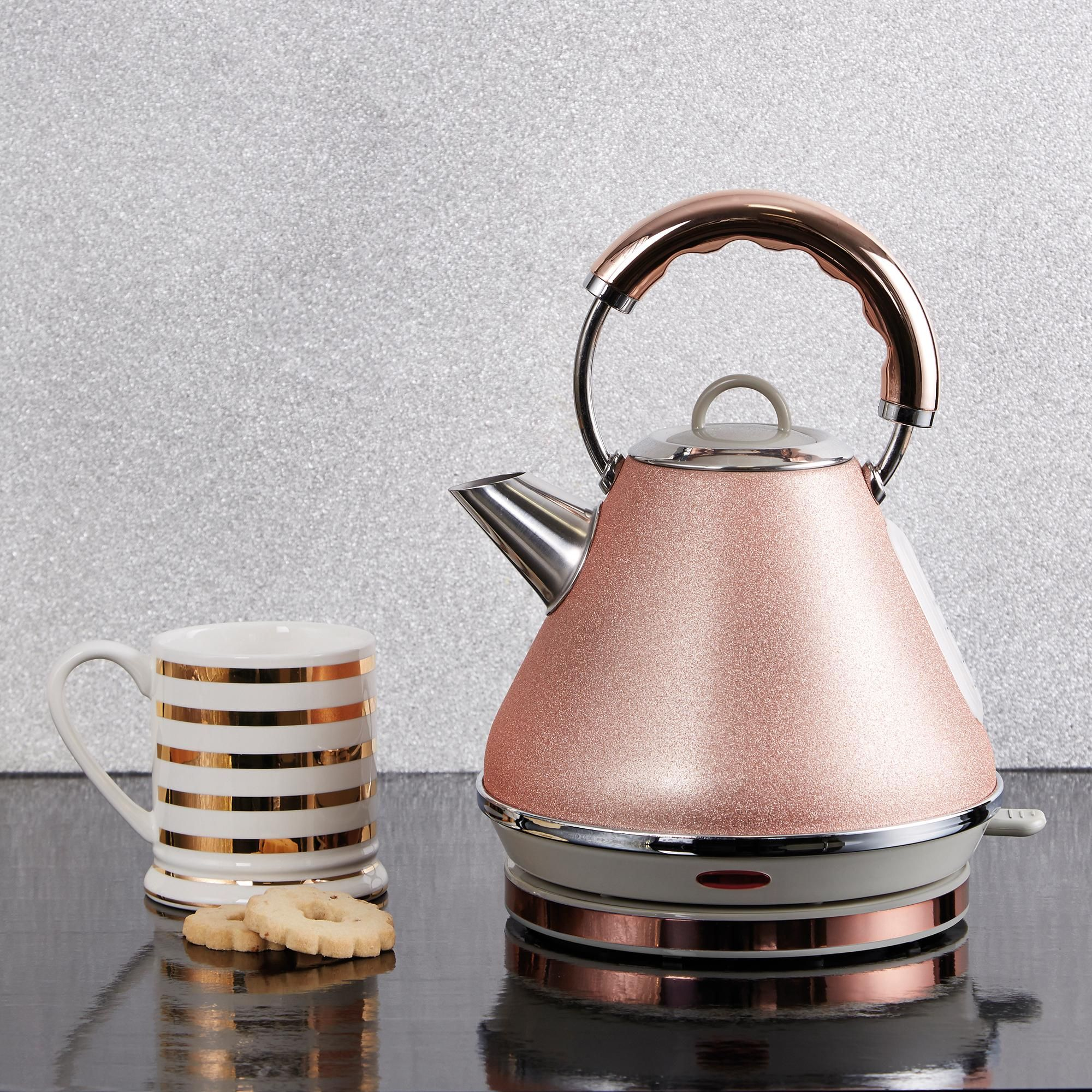 Sparkle Rose Kettle in 2020 | Rose gold