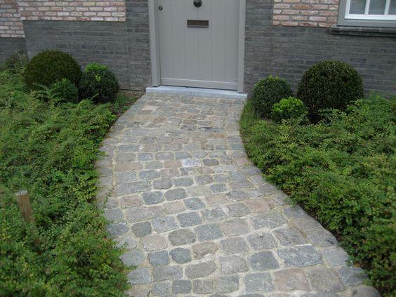 Pavés anciens - Pavés allées et entrées garage jardin Pinterest