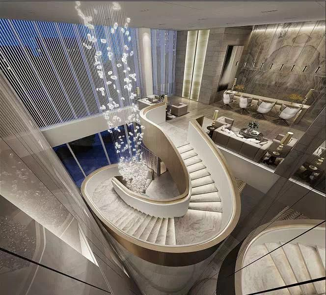 Stunning Staircase And Elevator Design Ideas: Pin By Win Zhang On Stairs In 2019