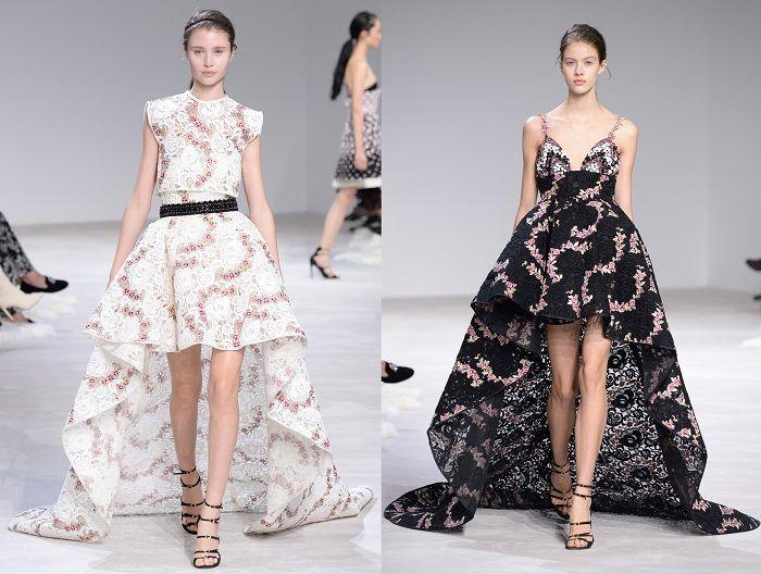 Неделя высокой моды в Париже  главные тренды Giambattista Valli,  Schiaparelli, и Christian Dior f6b07b0d1f6