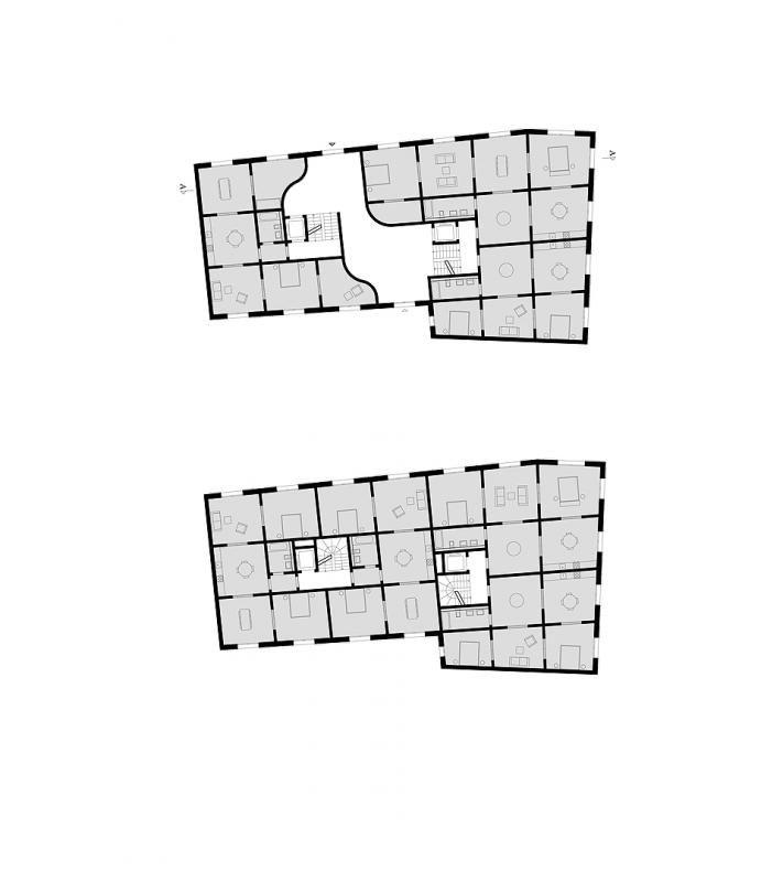 grundriss erdgeschoss grundriss regelgeschoss plans pinterest grundriss grundriss. Black Bedroom Furniture Sets. Home Design Ideas