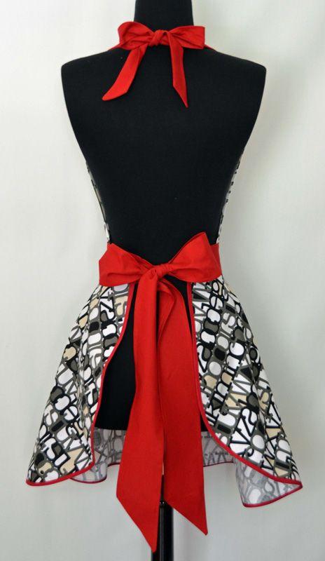 handmade aprons vintage free pattern - Google Search