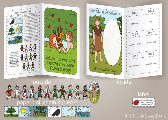 Lds Coloring Pages Pdf : Adam and eve were created in heavenly father's image file folder
