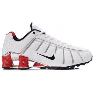 best service 9b22a 69625 www.asneakers4u.com  429869 005 Nike Shox O Leven White Red J05014