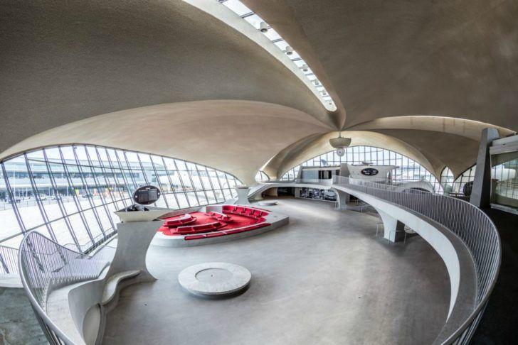 Sy Leed Seeking Hotel Inside Jfk S Twa Flight Center To Have Food Court And Nightclub