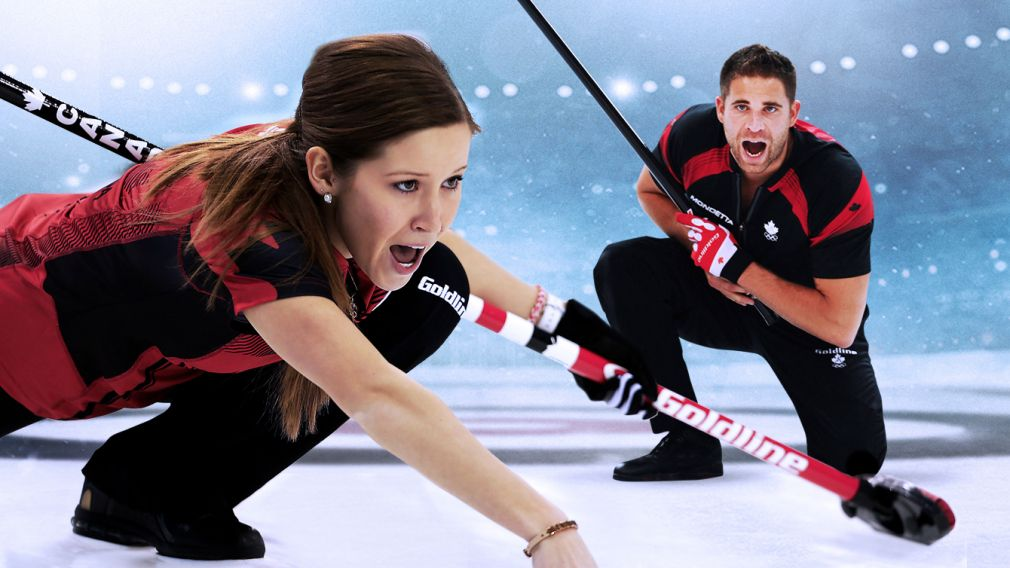 Olympic champs join Team Canada for mixed doubles curling