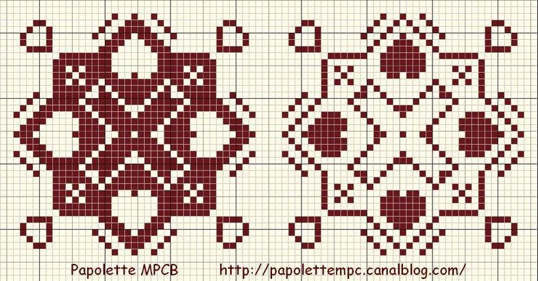 Biscornu patterns