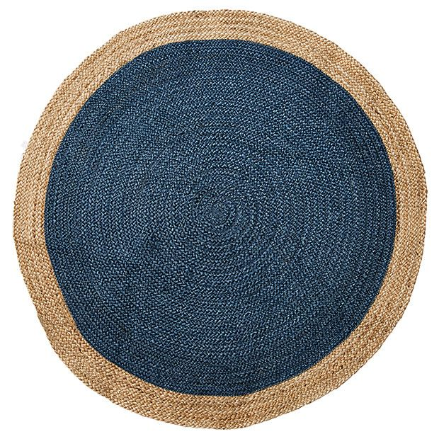 Round Rug Target For Navy Jute Floor Australia