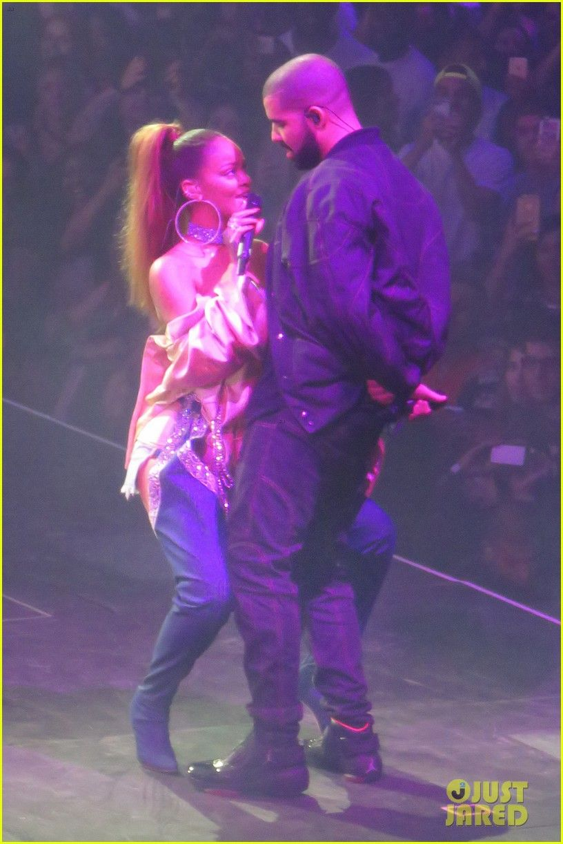 Drake Kanye West Tease Collaboration Album At Ovo Fest Concert In Toronto Drake Kanye West Tease Collaboration Album At Rihanna And Drake Concert Rihanna