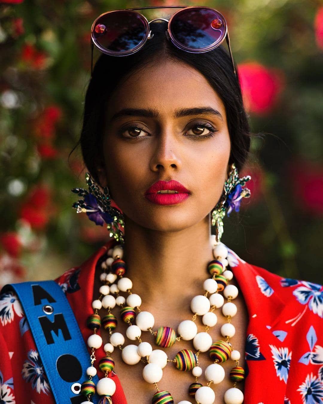 Ravyanshi Mehta for Glamour Italia Photography Signe