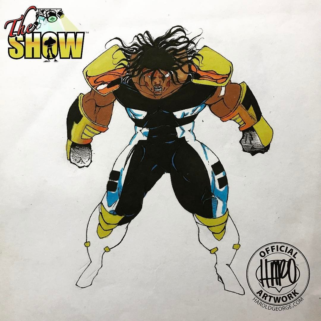 This one was drawn by me but inked and colored by @devilfiend and will be an addition to #theshowuniverse probably with the same name we gave him when we drew it Dark Wraith.  #comicart #comicartist #turlocktoonskwad #makingcomics @making_comics #indiecomics #dailydrawing #HaroldGeorge #HaroArtist #art #drawingaday #sketch_dailies #sketchdaily #artstagram #sketchtimewithharo #artoftheday #comicbooks #originalcharacter #comics