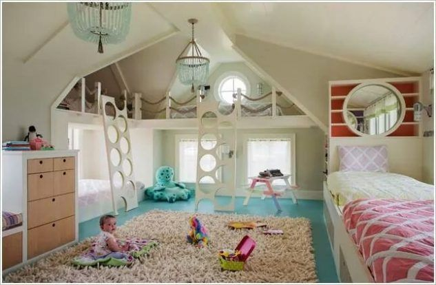 15 World Coolest Kids Room Design With Amazing Bunk Bed Top