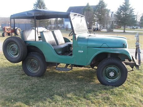 Willys Jeep For Sale >> Listing For A Friend Of Mine 1957 Willys Jeep Cj5 For Sale