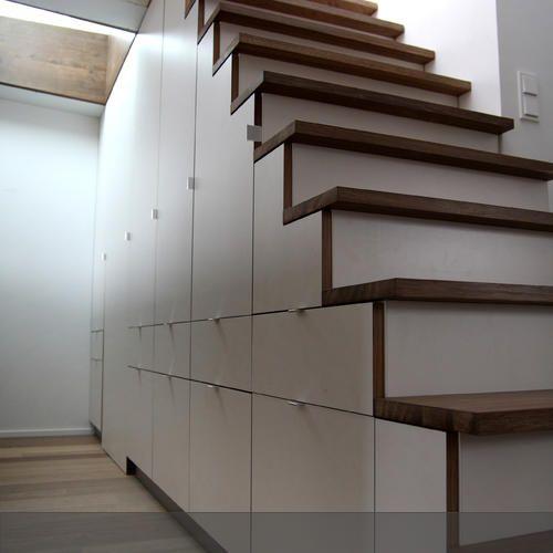 Treppe mit integriertem Einbauschrank Einbauschrank, Integriert
