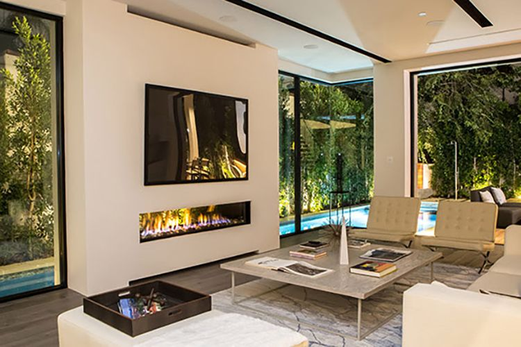 The Beauty Of Frameless Fireplaces Indoor Outdoor Fireplaces Indoor Fireplace Modern Outdoor Living