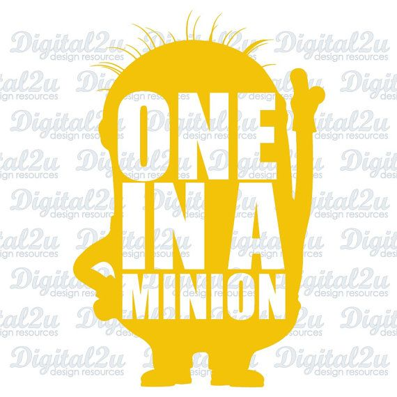 Minion Svg Silhouette Monogram Iron On Vinyl Shirt By Digital2u Silhouette Monogram Cricut Vinyl Silhouette Cameo Projects