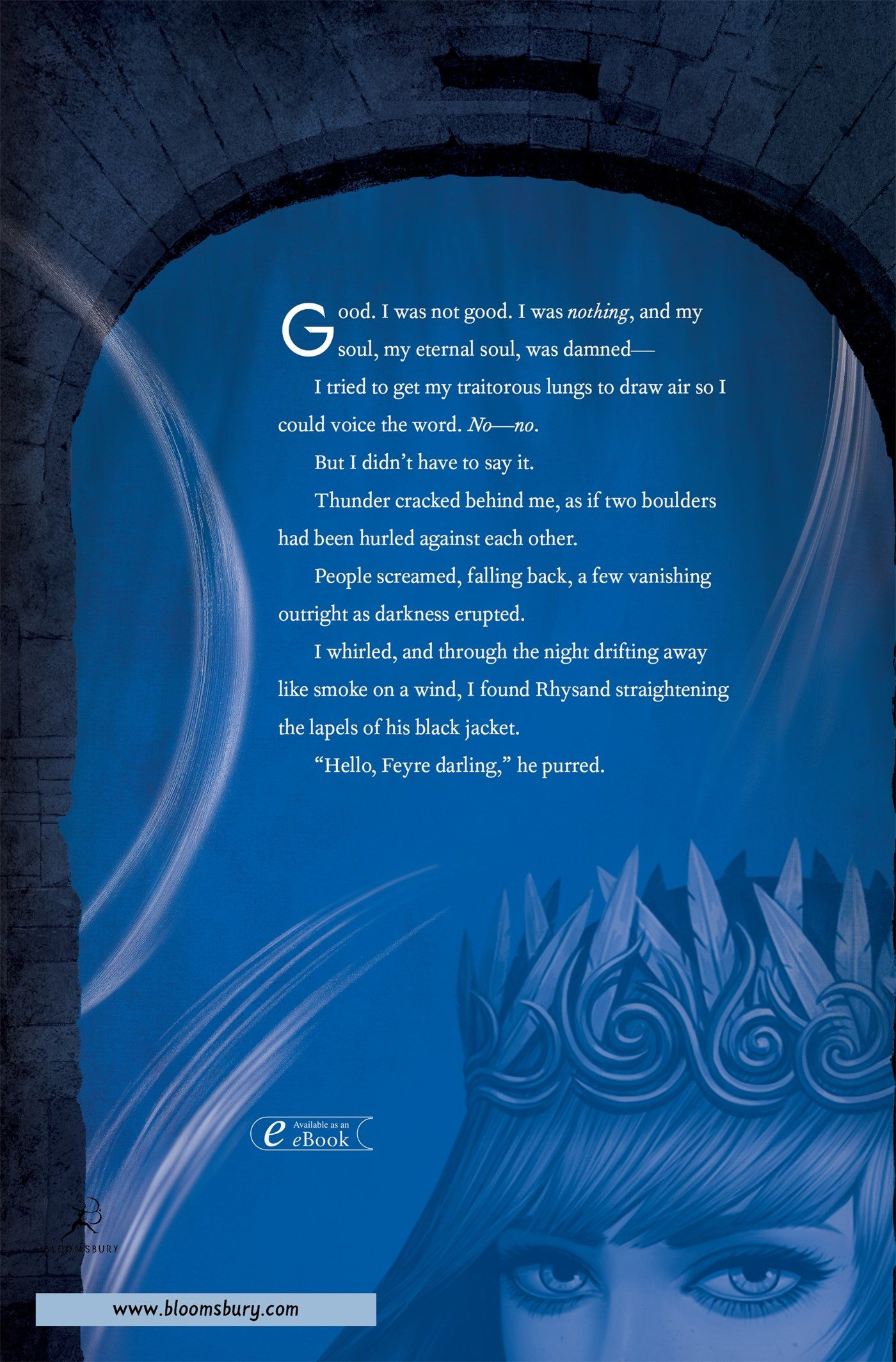 Excerpt On Back Cover Rhysand Hello Feyre Darling A Court