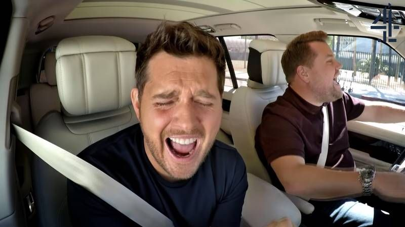 Michael Buble Delivers What Just Might Be The Most Enthusiastic Carpool Karaoke Of All Time Michael Buble Carpool Karaoke Karaoke