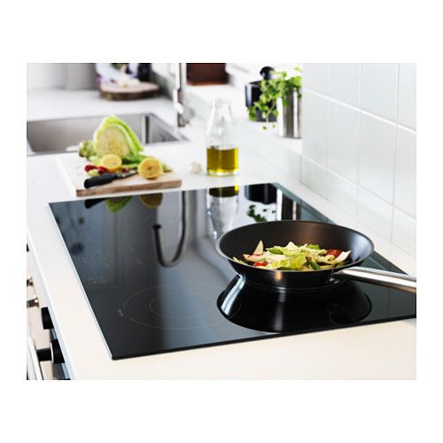 nutid 4 element induction cooktop black kitchen reno and kitchens. Black Bedroom Furniture Sets. Home Design Ideas