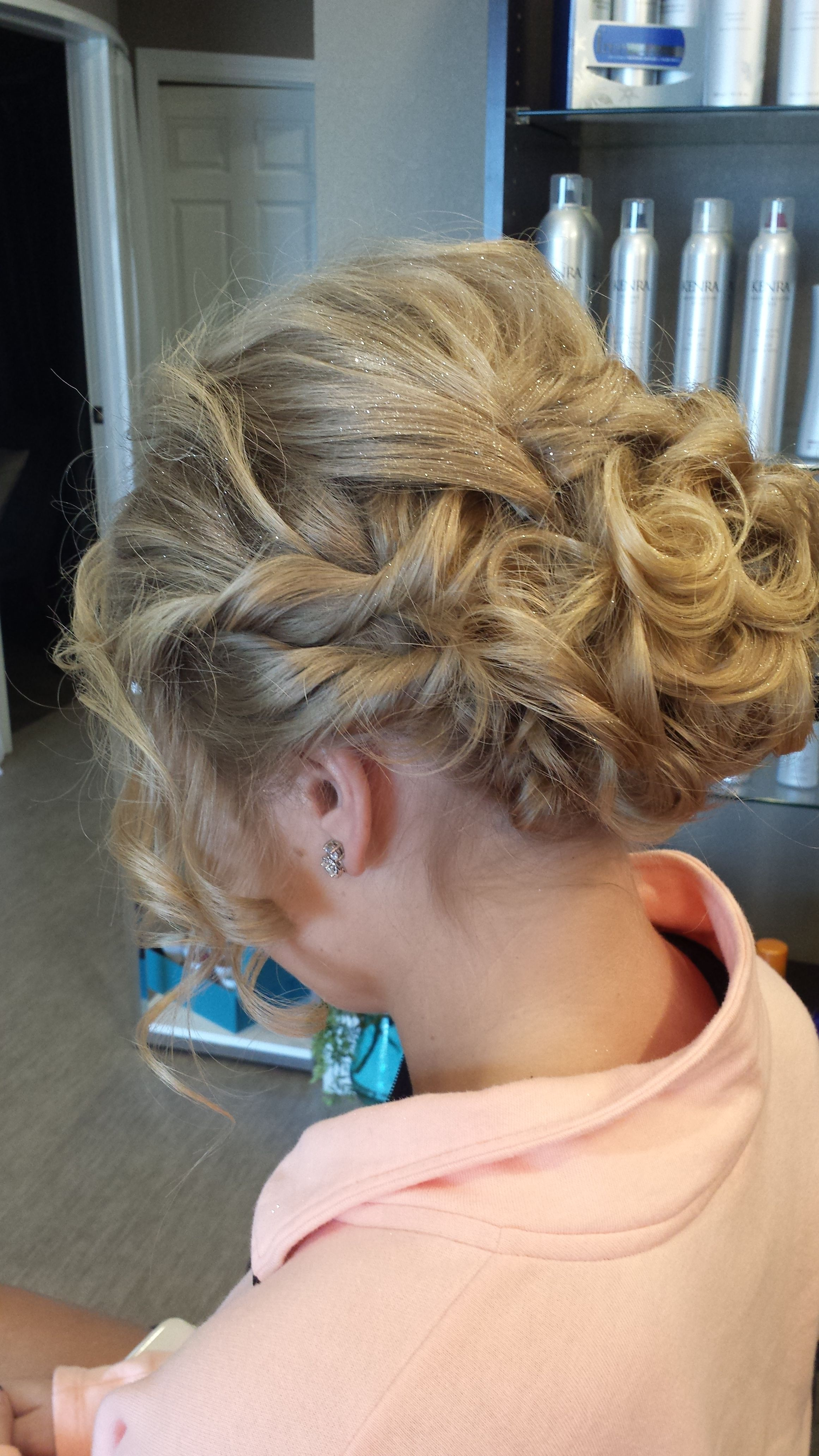 Curly prom updo prom updos hair styles beauty