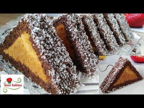 مثلثات الكيك الرائعة على الطريقة التركية تدوب بالفم مثل القطن Youtube East Dessert Desserts Yummy Cakes
