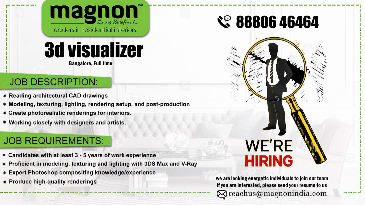 Job Vacancy Interior Designers Interior Design Companies Design