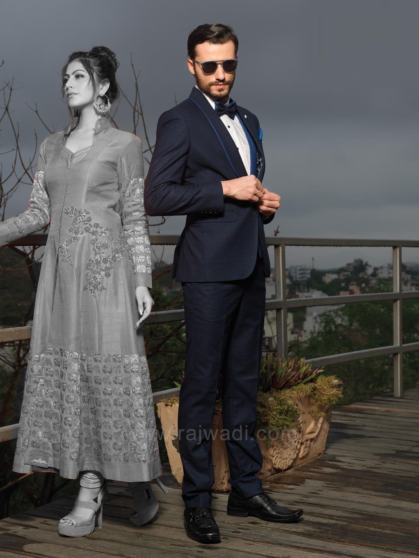 Terry rayon suit with matching bottom rajwadi menswear