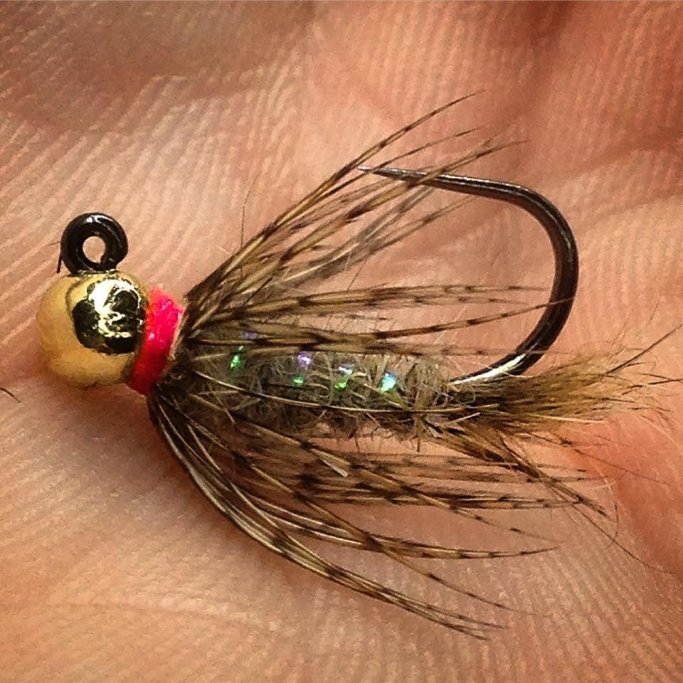 3 Mouche pêche truite Nymphe Corps Orange Pesca Mosca ninfas tungsteno H 12 14