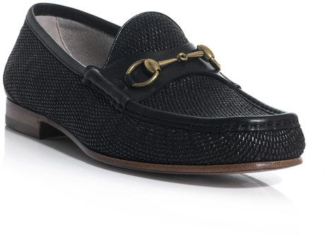 18d46a1025802 Gucci Horsebit Loafers in Black for Men - Lyst