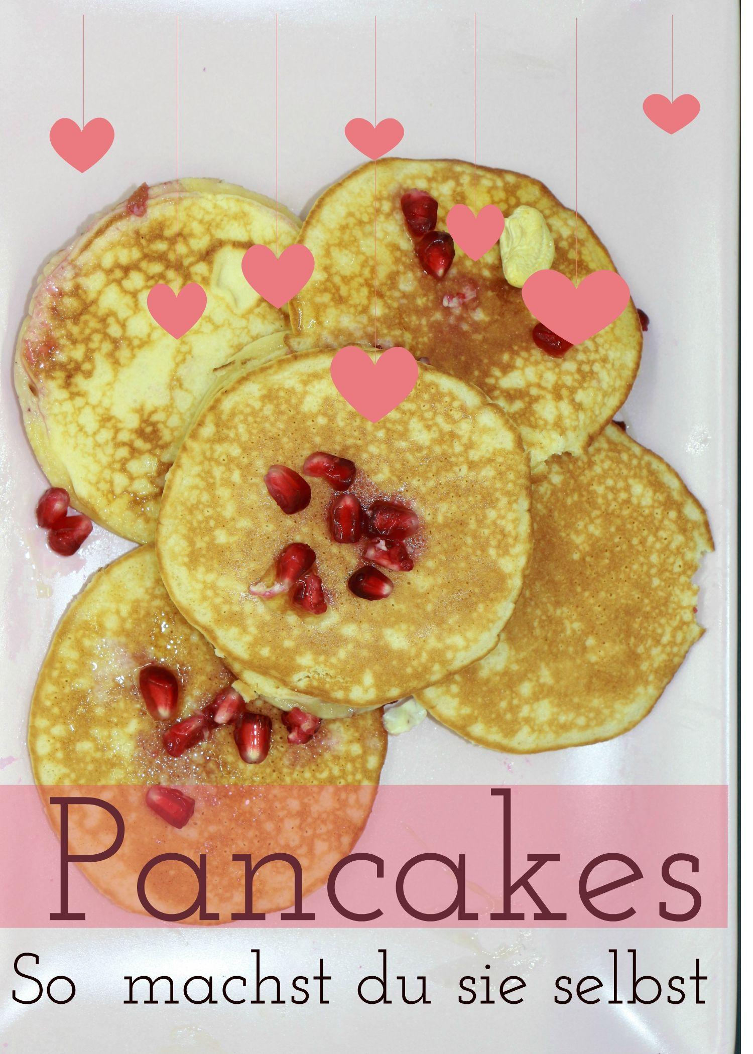 Pancake Rezept So Machst Du Typisch Amerikanische Pfannkuchen