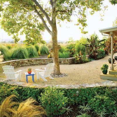 21 Inspiring Lawn-Free Yards | Yards, Landscaping and Backyard