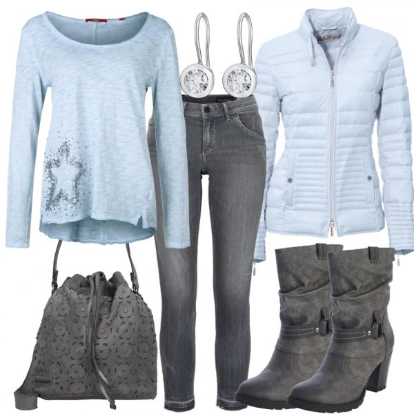 BlauerStern Outfit – Outfit Freizeit su FrauenOutfits.de