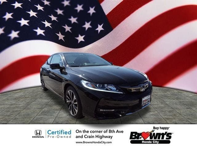 Used 2016 Honda Accord, From Brownu0027s Honda City In Glen Burnie, MD, Call  For More Information.