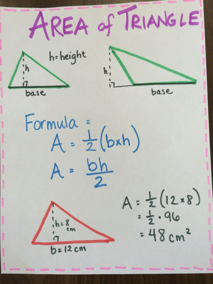 41++ Area of triangles and trapezoids worksheet Information
