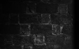 Preview Wallpaper Wall Brick Texture Shadow Black And White Nuage Noir Fond Ecran Photos