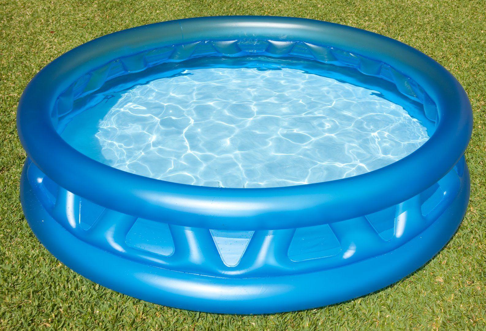 pools #intex #58431np intex 58431 aufblasbar rund blau aufstel