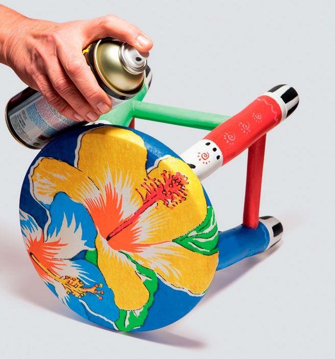 Banquinho customizado DIY