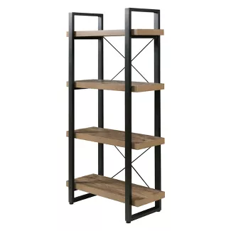 Shop Bookshelves Bookcases At Target Find A Wide Variety Of Styles From Ladder Shelves Wood And Metal Book Bookshelves Diy Steel Furniture 4 Shelf Bookcase