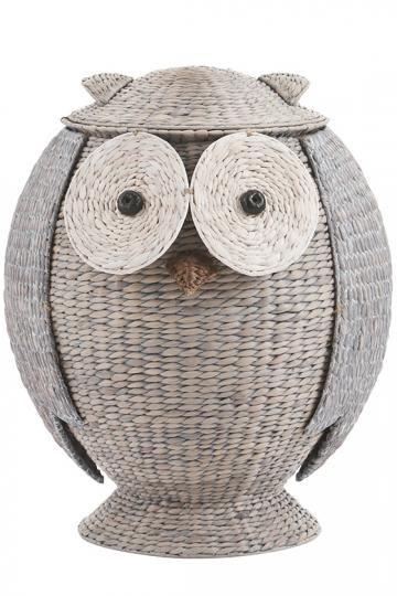 Owl Hamper Wicker Hamper Animal Hamper