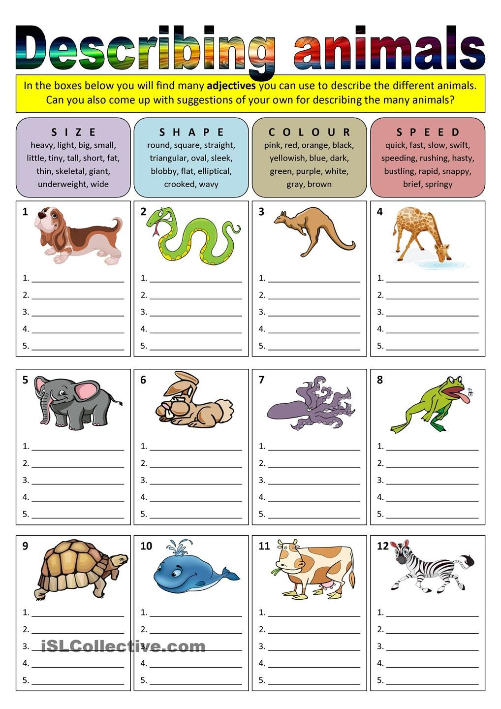 Vocabulary: Animals - British Council LearnEnglish Teens